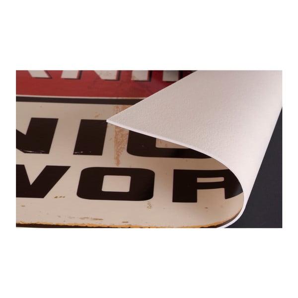 Koberec z vinylu Intersecciones, 133x200 cm