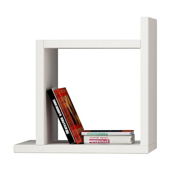 Raft pentru cărți Homemania Kutu, alb