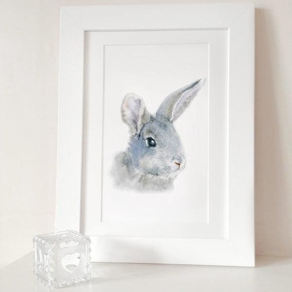 Plakát Bunny Portrait A3