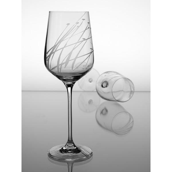 Ateliér Žampach, set 2 ks skleniček na červené víno Sítina