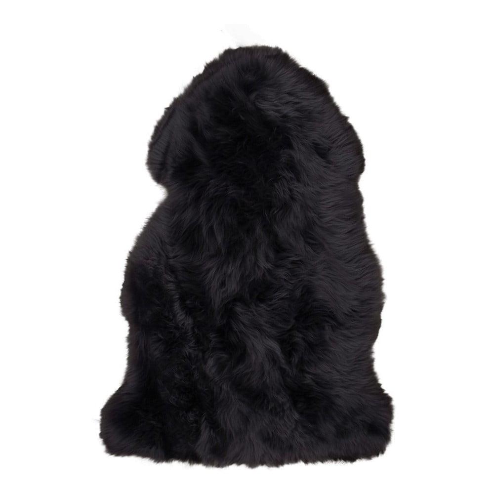 Černá ovčí kožešina House Nordic