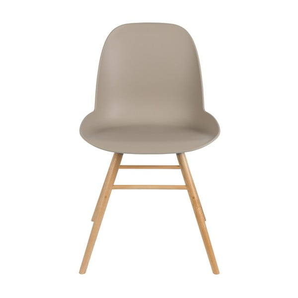 Set 2 scaune Albert Kuip, gri - maro
