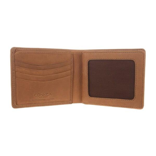Kožená peněženka Benedict Chestnut