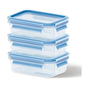 3 boxy na uskladnění jídla Clip&Close, 3x0.55 l