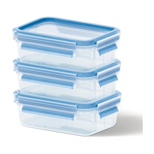 3 boxy na uskladnění jídla Clip&Close, 3x1 l