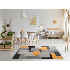 Šedý koberec Universal Leo Square, 160 x 230 cm