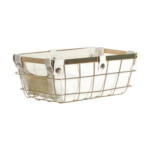 Úložný košík zlaté barvy Premier Housewares Liner