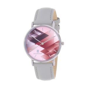 Šedorůžové dámské hodinky Black Oak Gemo