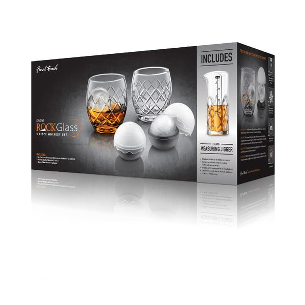 5dílný set na whiskey Original Products Yarai