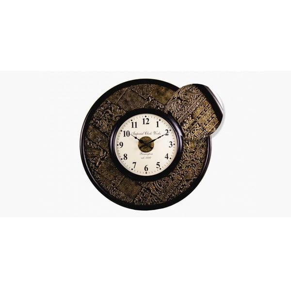 Nástěnné hodiny Indická razítka