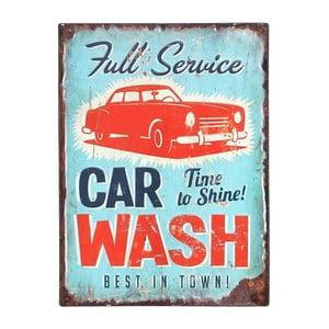 Kovový obraz Car Wash