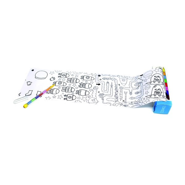 Kapesní omalovánka OMY Pocket Cosmos (30 x 42 cm)