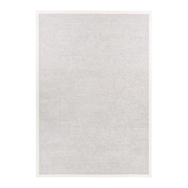 Covor reversibil Narma Palmse White, 80 x 250 cm, alb