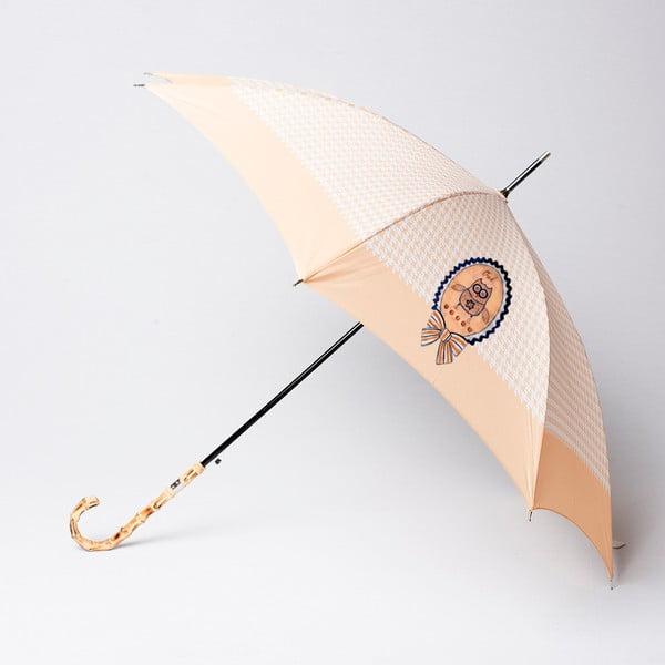 Deštník Alvarez Houndstooth Beige Illustration