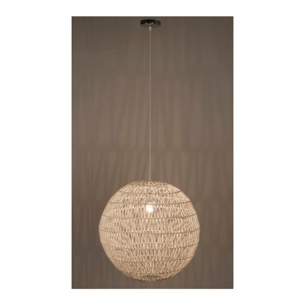 Bílé stropní svítidlo Zuiver Cable, Ø60cm