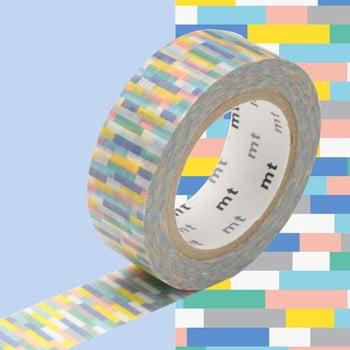 Bandă decorativă Washi MT Masking Tape Josette, rolă 10 m de la MT Masking Tape