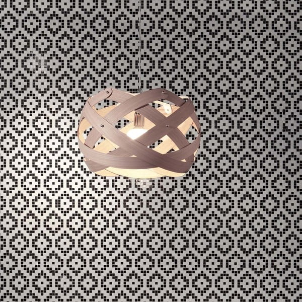 Závěsné svítidlo Nuclea Emporium 40 cm, natural