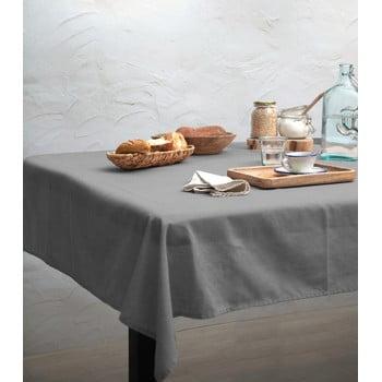 Față de masă Linen Couture Cool Grey, 140 x 140 cm imagine
