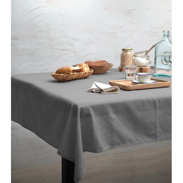 Obrus Linen Couture Cool Grey, 140 x 200 cm