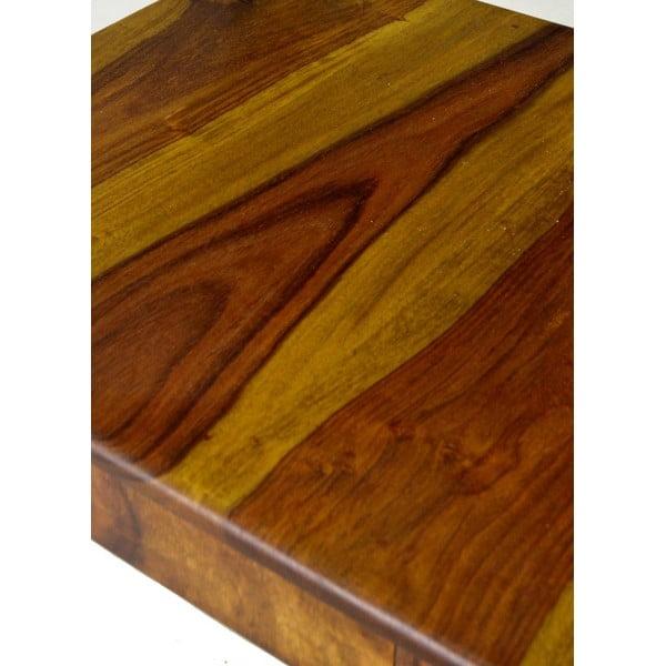 Palisandrová židle Goa, tmavě medová