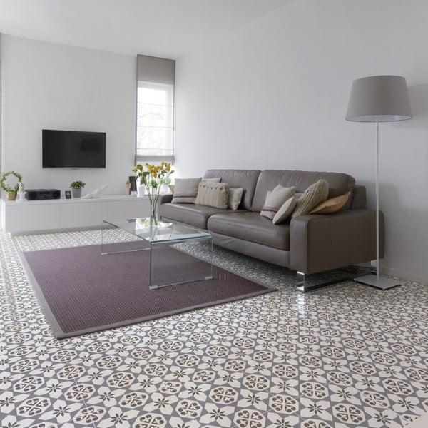 Autocolant pentru podea Ambiance Rosaria, 40 x 40 cm