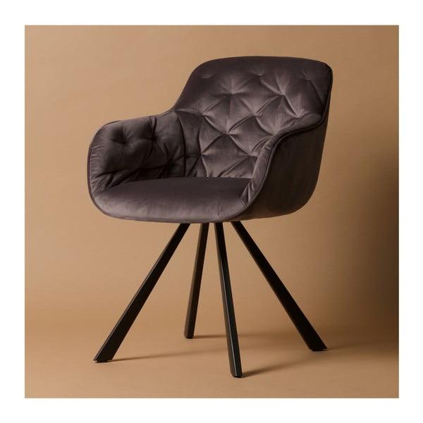 Šedá židle De Eekhoorn Elaine