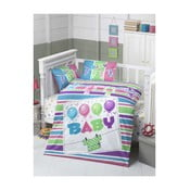 Lenjerie pat din bumbac pentru copii Baby, 100x150cm