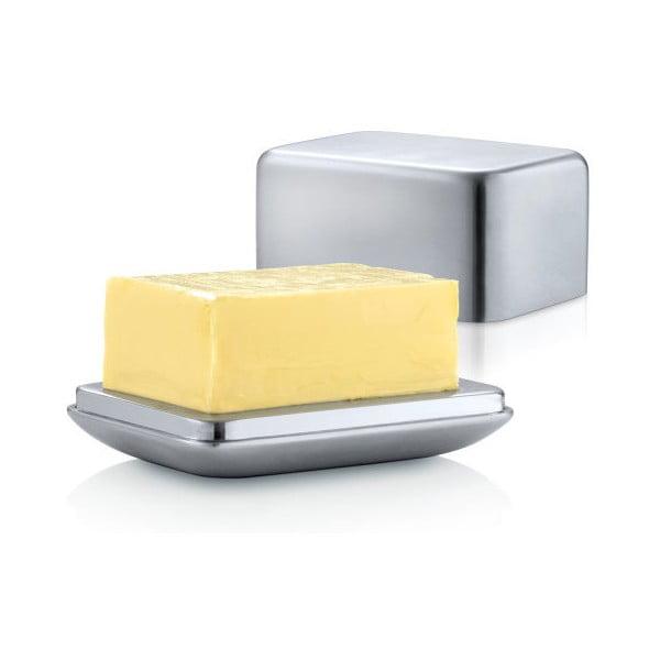 Nerezová dóza na máslo Blomus Basic, máslo o hmotnosti 125 g
