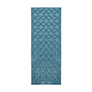 Modrý běhoun Mint Rugs Shine Mero, 80 x 250 cm