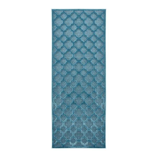 Covor Mint Rugs Shine Mero, 80 x 250 cm, albastru