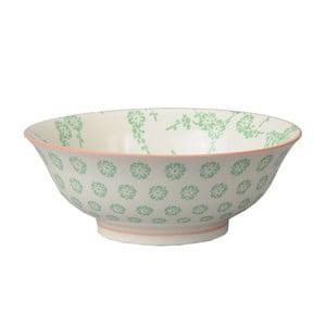 Porcelánová miska Soba Flower Green, 21x7,8 cm