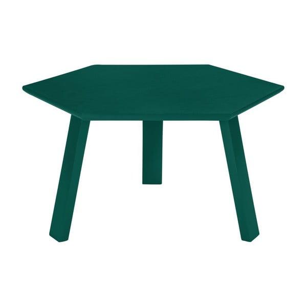 Konferenční stolek Hexagon Green, 47x37x47 cm
