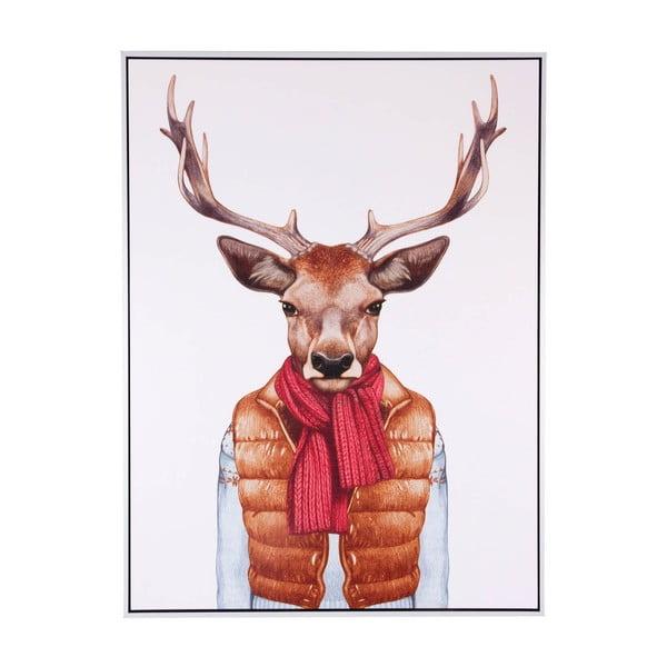 Deer Vest kép, 60 x 80 cm - sømcasa