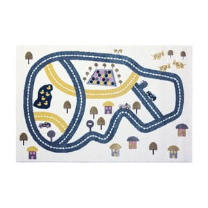 Koberec Art For Kids Racetrack, 100 x 150 cm