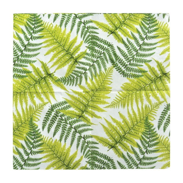 Sada 20 ubrousků Esschert Design Leaf