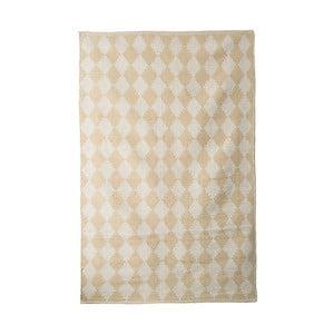 Bavlněný ručně tkaný koberec Pipsa Curry Diamond, 140x200 cm