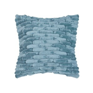 Modrý polštář ZicZac Cobble Stone, 45x45cm