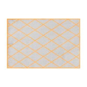 Šedooranžová rohožka Hanse Home Scale, 50x70cm
