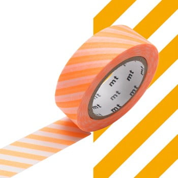 Bandă decorativă Washi MT Masking Tape Alexandrine, rolă 10 m imagine