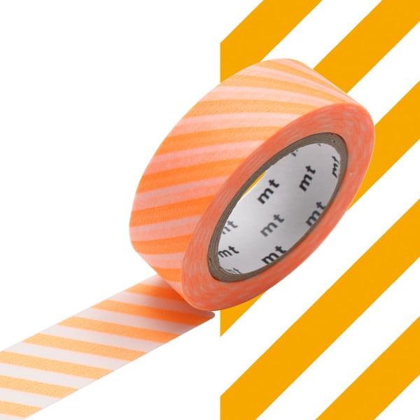 Bandă decorativă Washi MT Masking Tape Alexandrine, rolă 10 m