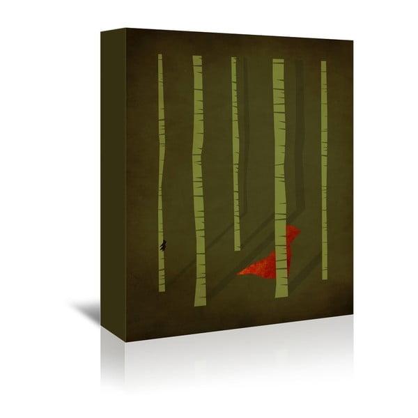 Obraz na plátně Red Riding Hood od Christiana Jacksona