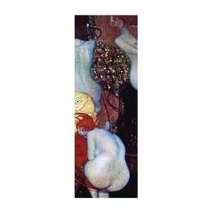 Gustav Klimt - obraz Goldfish, 97x37 cm