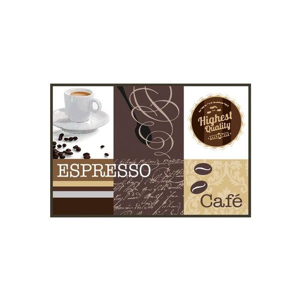 Rohožka/koberec Espresso, 80x50 cm