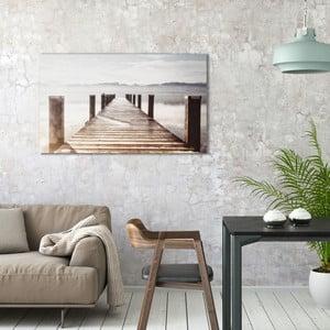 Obraz na plátně OrangeWallz Lake, 70 x 118 cm