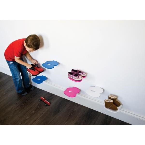 Police na dětské boty J-ME Footprint, bílá