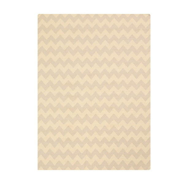 Ručně tkaný koberec Kilim Aar Sand, 160x230 cm