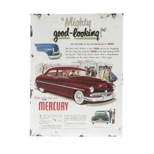 Nástěnná cedule Novita Mercury Porte, 30x40cm