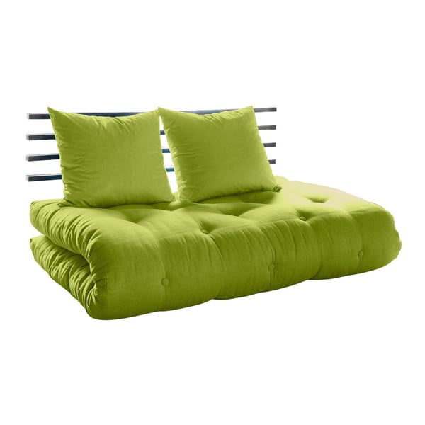 Canapea extensibilă Karup Shin Sano Black/Pistacio