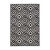 Černobílý koberec Zala LivingArt, 70x140cm