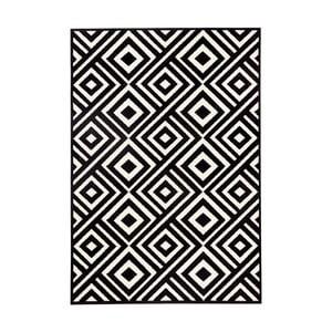 Černobílý koberec Hanse HomeArt, 70x140cm